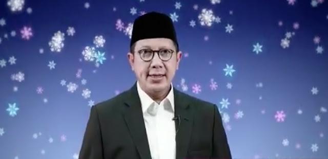 Lukman Hakim Saifuddin: Yesus Datang Membawa Rahmat, Mari Kita Rayakan Natal