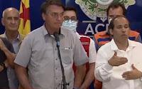 Bolsonaro abandona coletiva ao ser questionado sobre decisão do STJ que beneficia Flávio