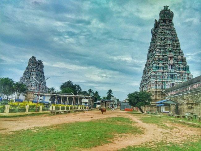 Rajagopalaswamy Temple Inner Tower