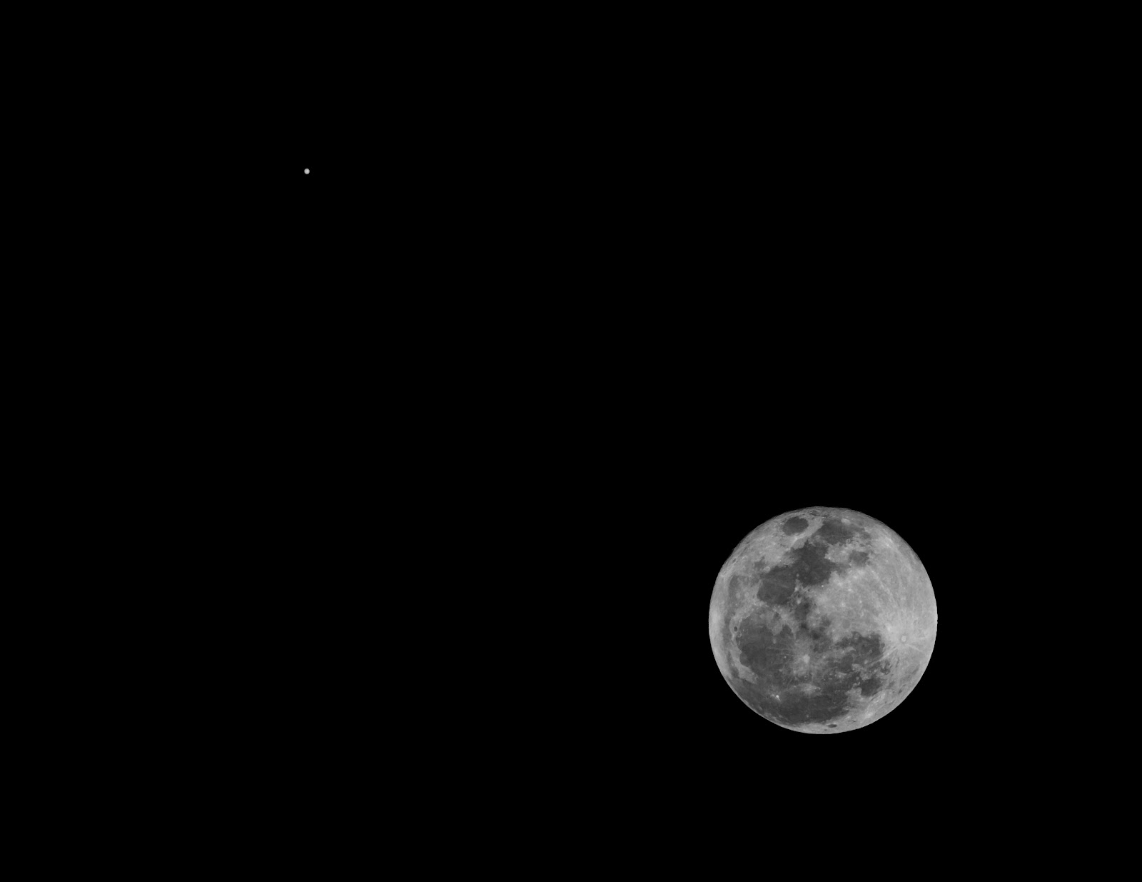Edward Plumer: Conjunction of Moon and Jupiter