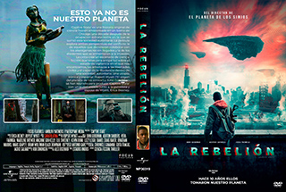 Captive State - La rebelión - Cover - DVD