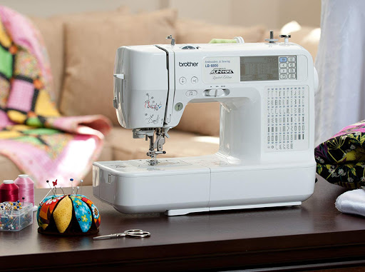 Brother LB6800PRW Computerized Embroidery and Sewing Machine