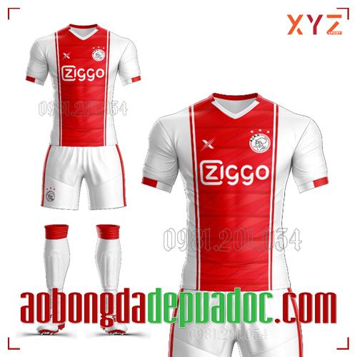 Áo CLB Ajax Tự Thiết Kế Mã AJAX-01 Đẹp Và Độc