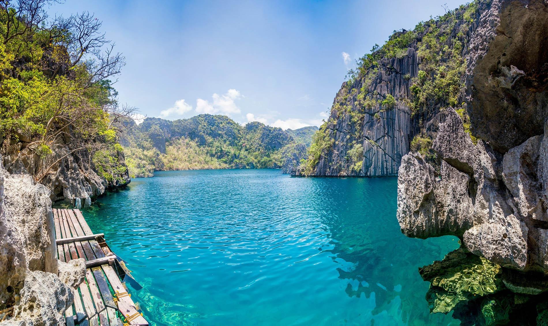 Озеро Барракуда, остров Корон на Филиппинах
