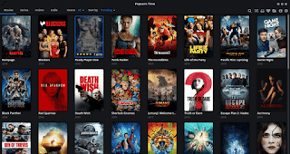 Streaming Film Gratis Menggunakan Popcorn Time Di GNU/Linux