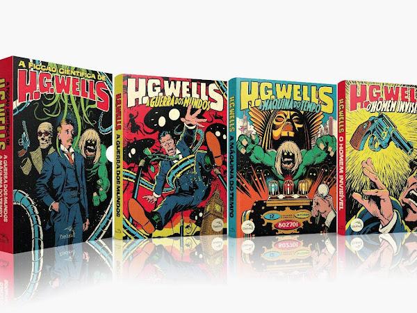 Editora Pandorga lança box A Ficção Científica de H. G. Wells