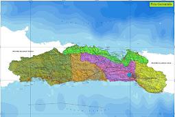 Peta Gorontalo HD Lengkap dan Keterangannya
