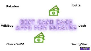 Cash Back Apps For Rebates