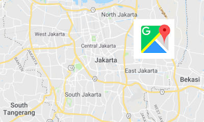Indonesian Google Maps voice navigation