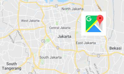 Indonesian Google Maps voice navigation