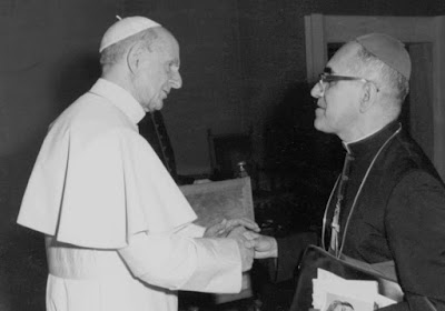 Paul VI and Oscar Romero