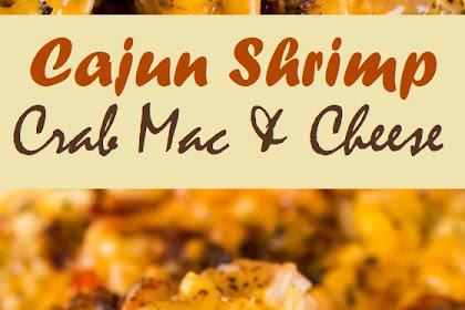 Cajun Shrimp Crab Mac & Cheese
