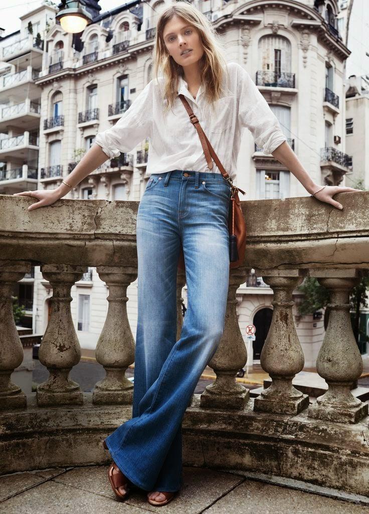 9fd6f0150c Trend alert  Flared pants   Alerta tendencia  Pantalones campana