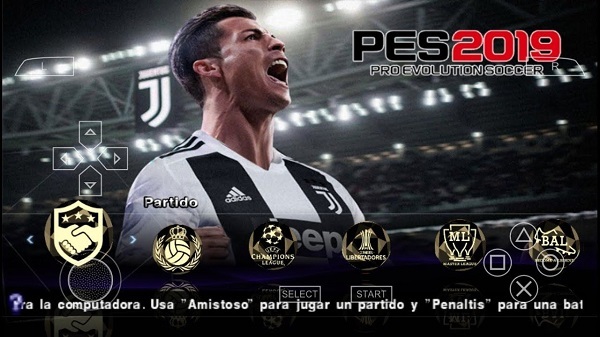 Download PES 2019 ISO PPSSPP v2 Offline Highly Compressed