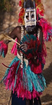 الأقنعة في التقاليد الإفريقية