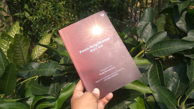 Buku Kumpulan Puisi berjudul Pesan Sang Mentari karya penyair Korea Kong Kwang-Kyu diluncurkan 21 Okrober 2019 (dok.windhu)