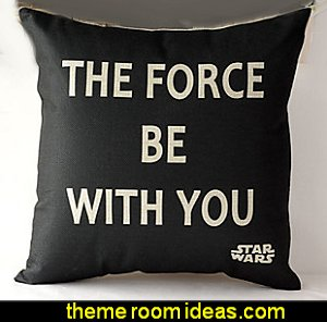 Star Wars  throw pillows star wars bedroom decorations