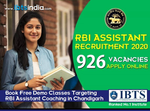 RBI Assistant Recruitment 2020 - Apply Online for 926 Posts