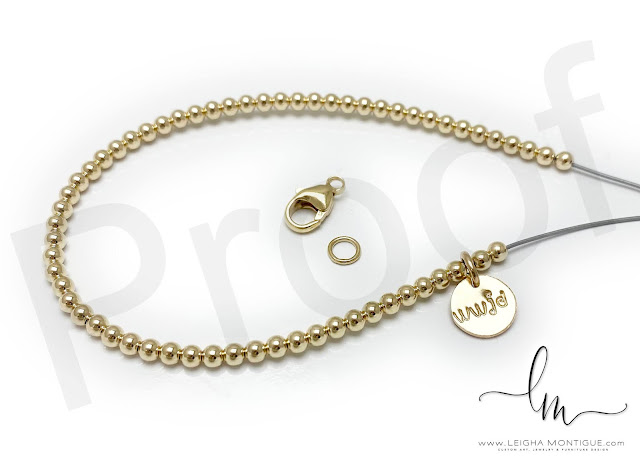 Gold WWJD Bracelet Proof