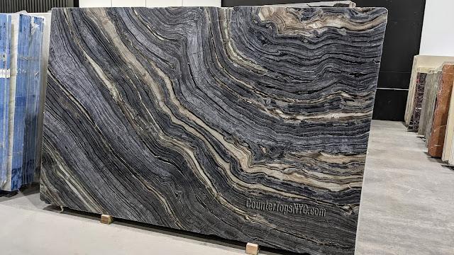 Kenya Black Natural Stone Marble Slabs