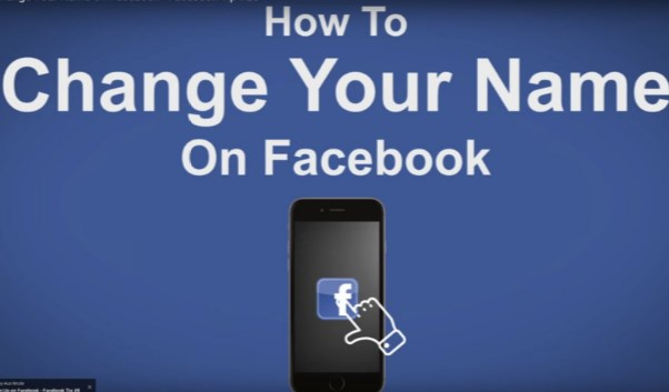 how to change your name on facebook mobile