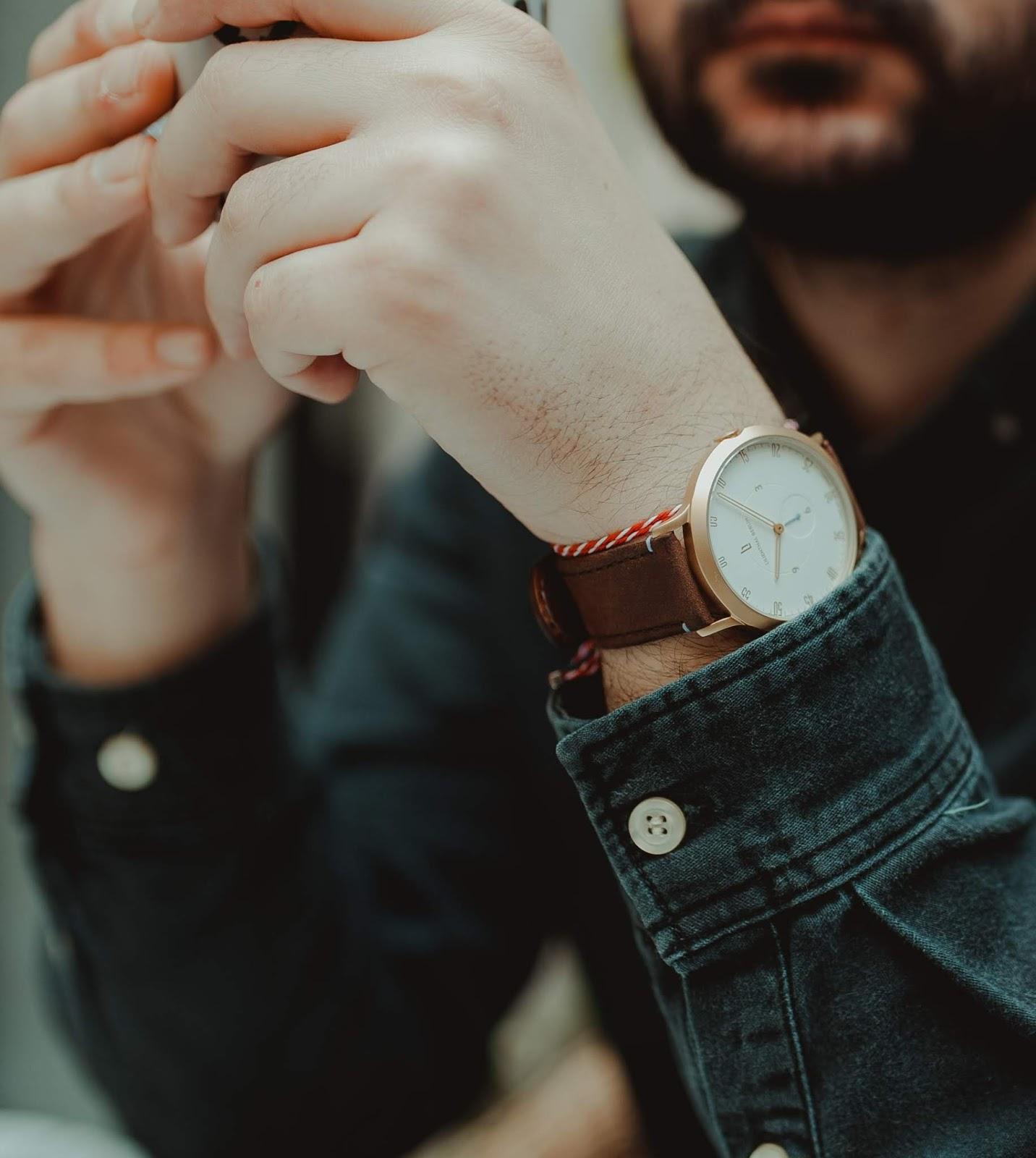 Wristwatch DP for Attitude Boy