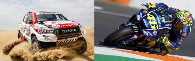 Berita MotoGp, Valentino Rossi Ingin Jajal Balap Dakar