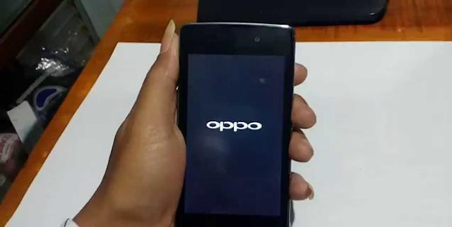 Restart HP Oppo Untuk Cek Tipe