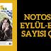 Notos'un Eylül-Ekim Sayısı Çıktı