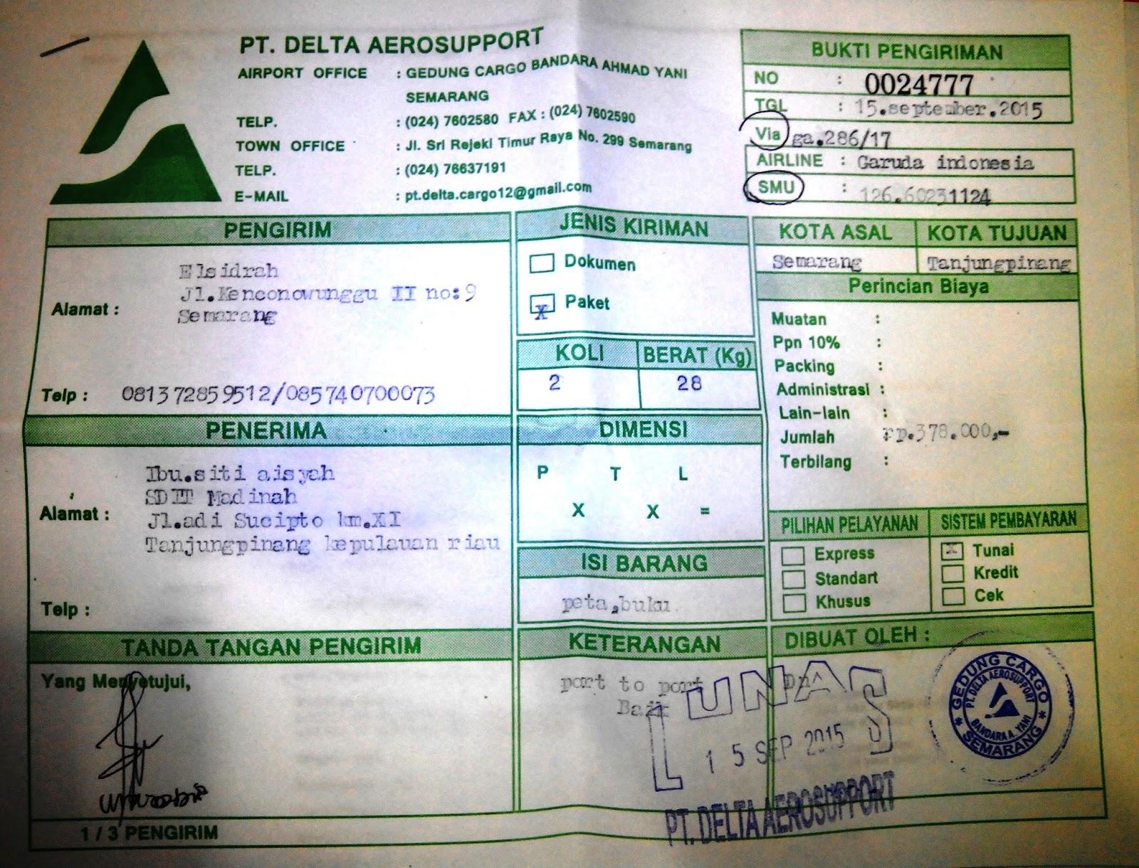 Katalog Bazar Jarum Pentul Keping Delta Cargo