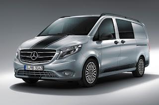 Mercedes-Benz Vito Crew Van Sport Line (2018) Front Side