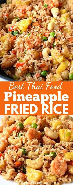best ever thai pineapple fried rice