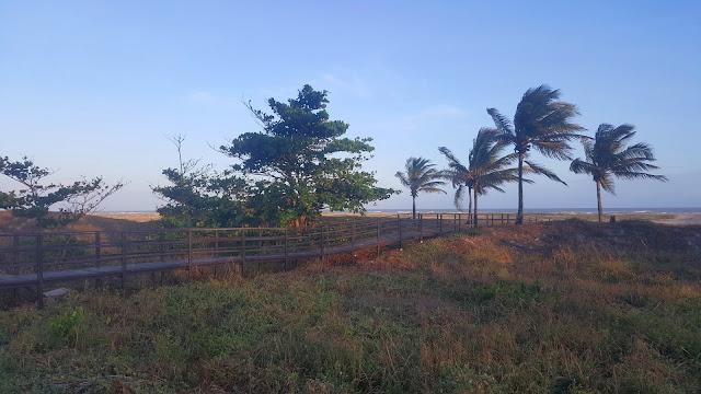 praia em orla de atalaia
