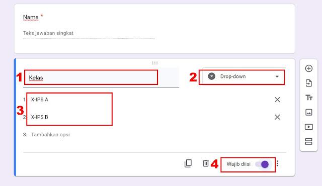 google formulir untuk ujian online