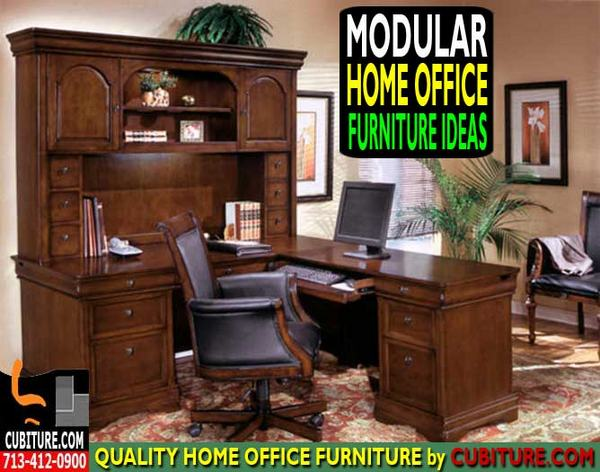 modular home office furniture collections