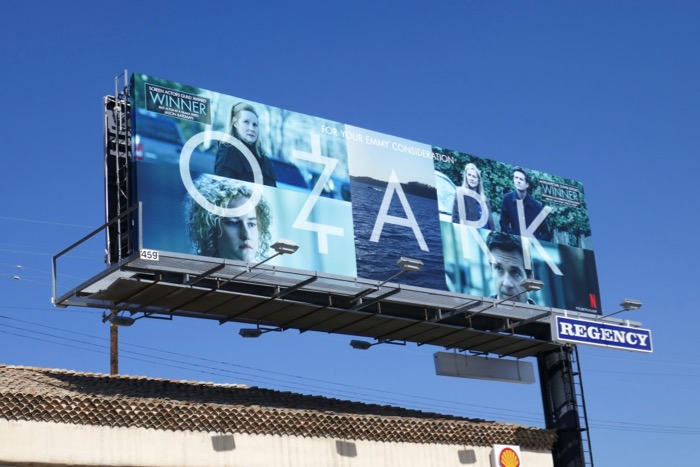 Ozark 2019 Emmy consideration billboard