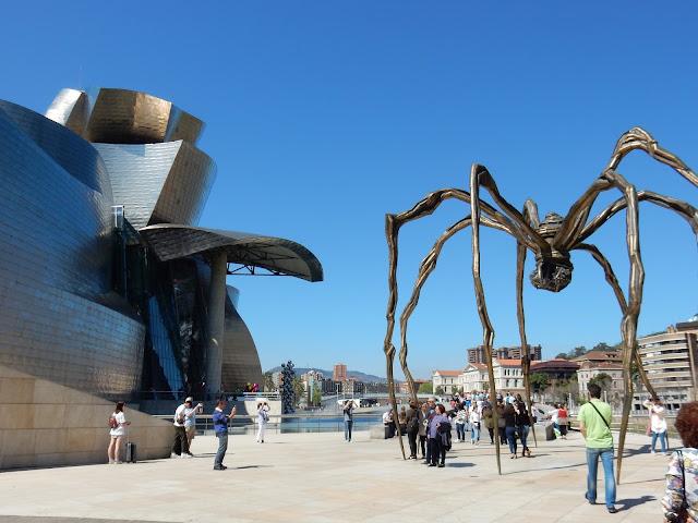 Guggenheim Museum, Maman, Bilbao, España, Elisa N, Blog de Viajes, Lifestyle, Travel