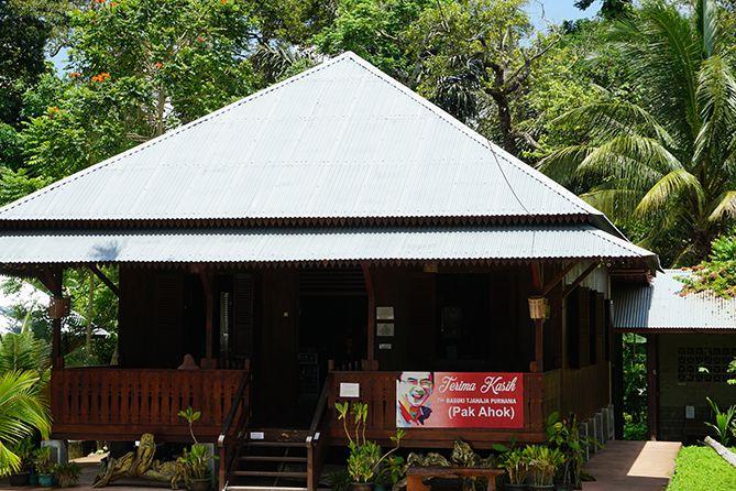Bangunan rumah di Kampung Ahok