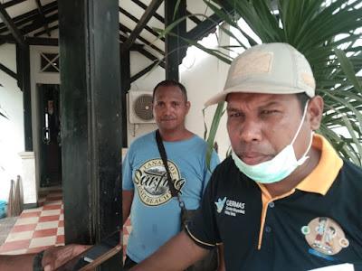 Kadis Lingkungan Hidup Kota Tual Jamal Renhoat S.Pd