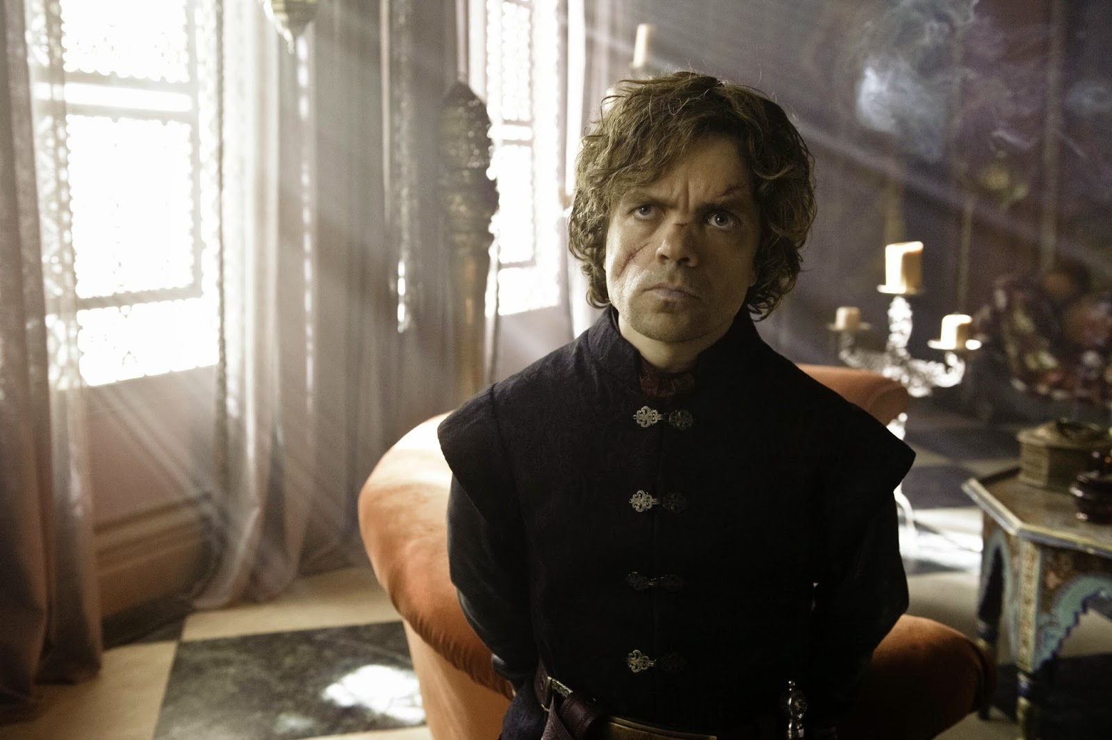 Tyrion Lannister, aka The Imp, played by Peter Dinklage, in Game of Thrones, HBO TV Series