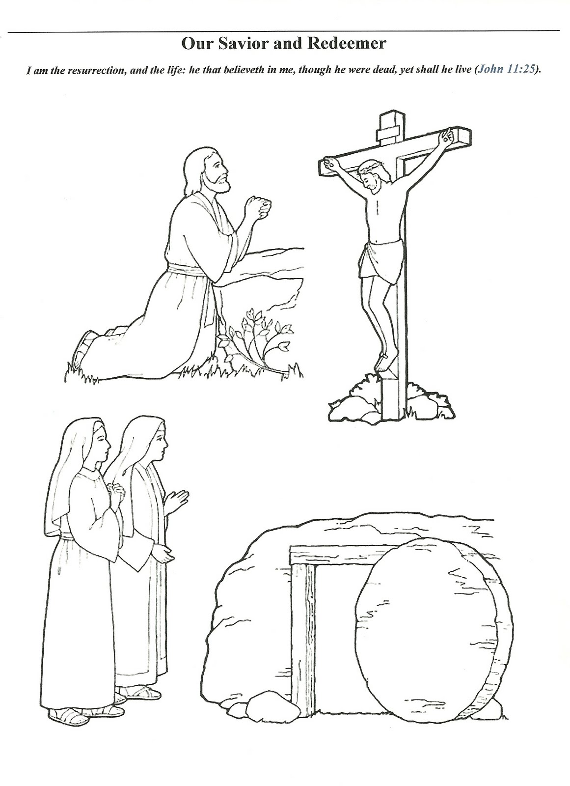 Image Result For Lds Easter Coloring