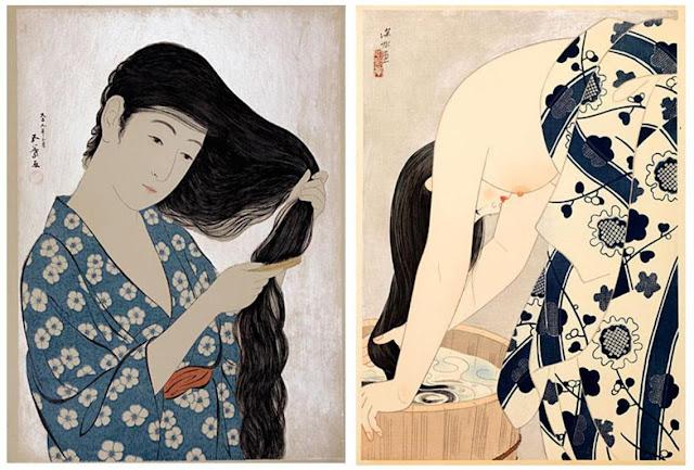 Hashiguchi Goyō (1880-1921) e Ito Shinsui (1898-1972)