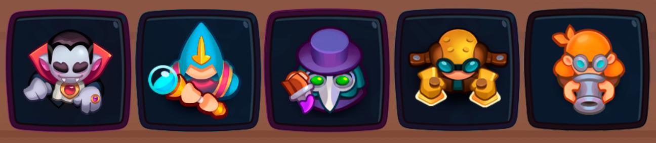 No legendary cards