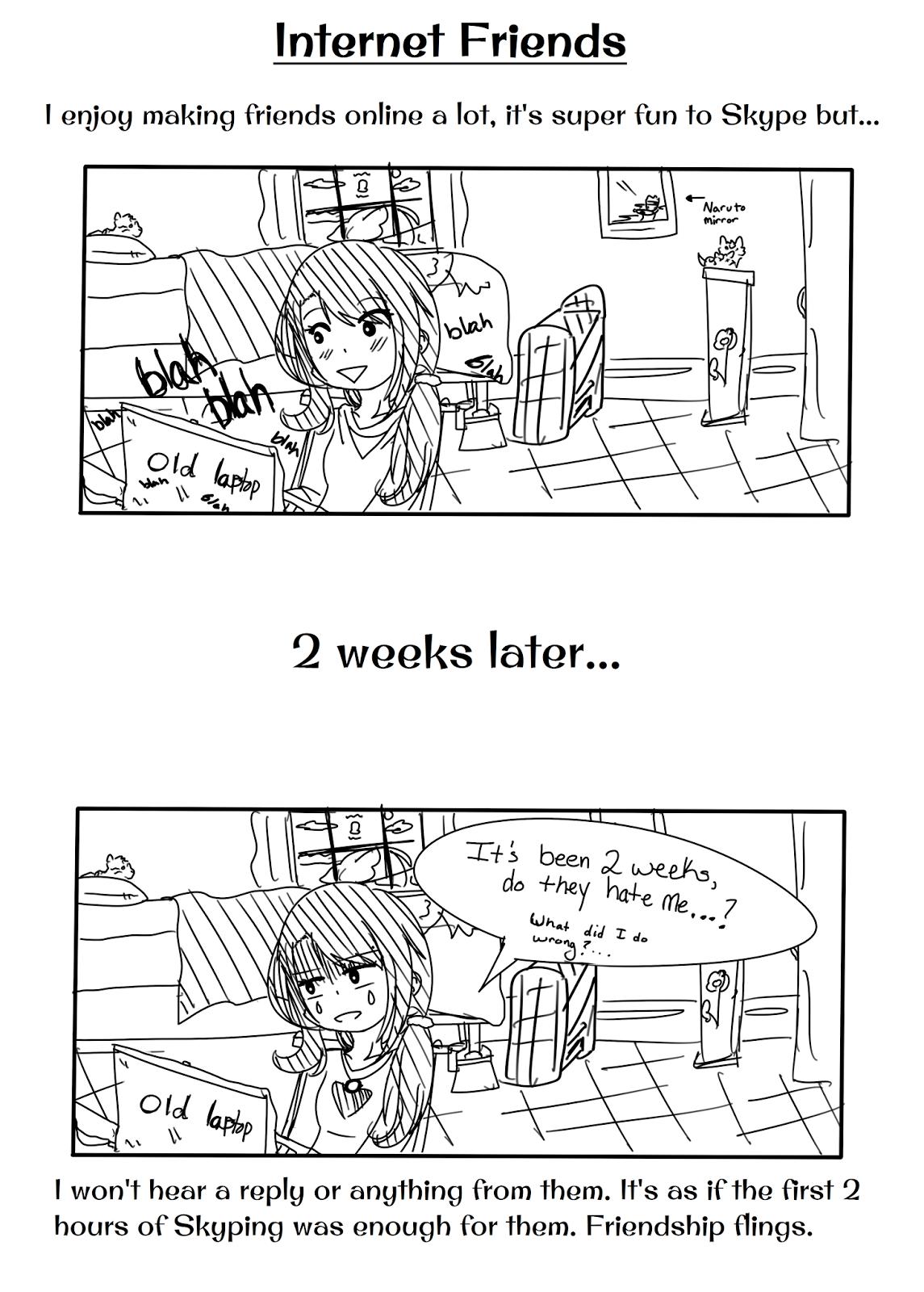 Amber in Japan!: Comic: Internet Friends