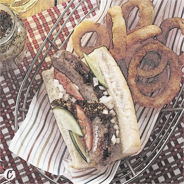 Grilled Seasoned Bratwurst 🌭