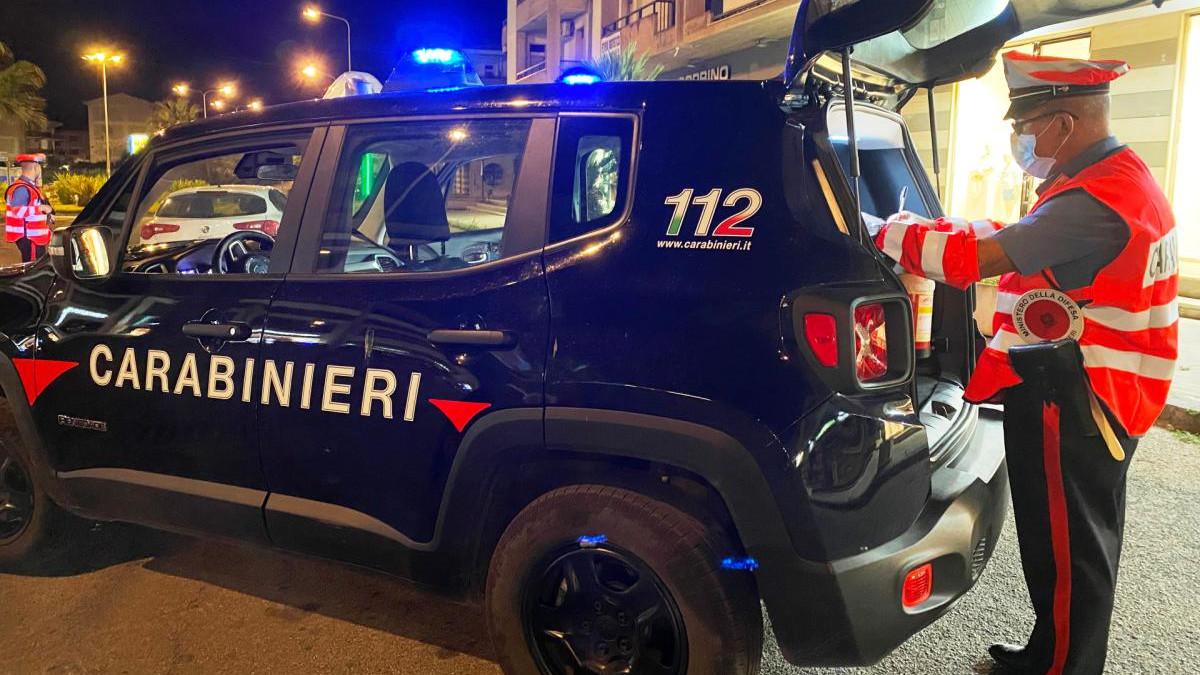 Scordia controllo anti Covid Carabinieri
