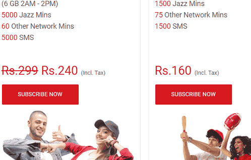 jazz+warid call packages 2020 new codes