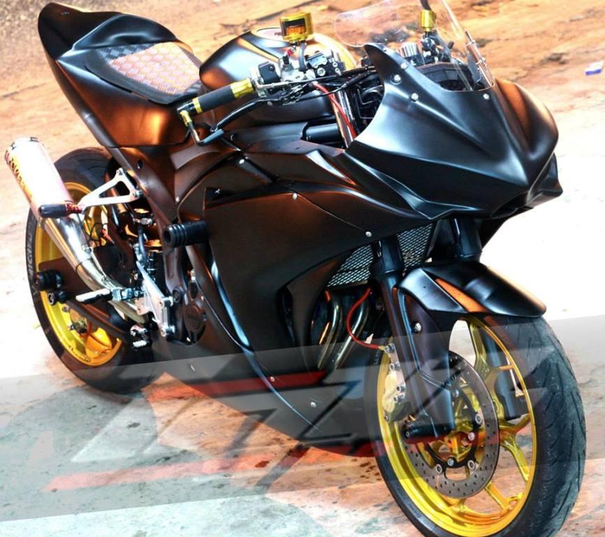 Modifikasi Yamaha R25 Touring Terbaru 2017  Modifikasi Motor Keren