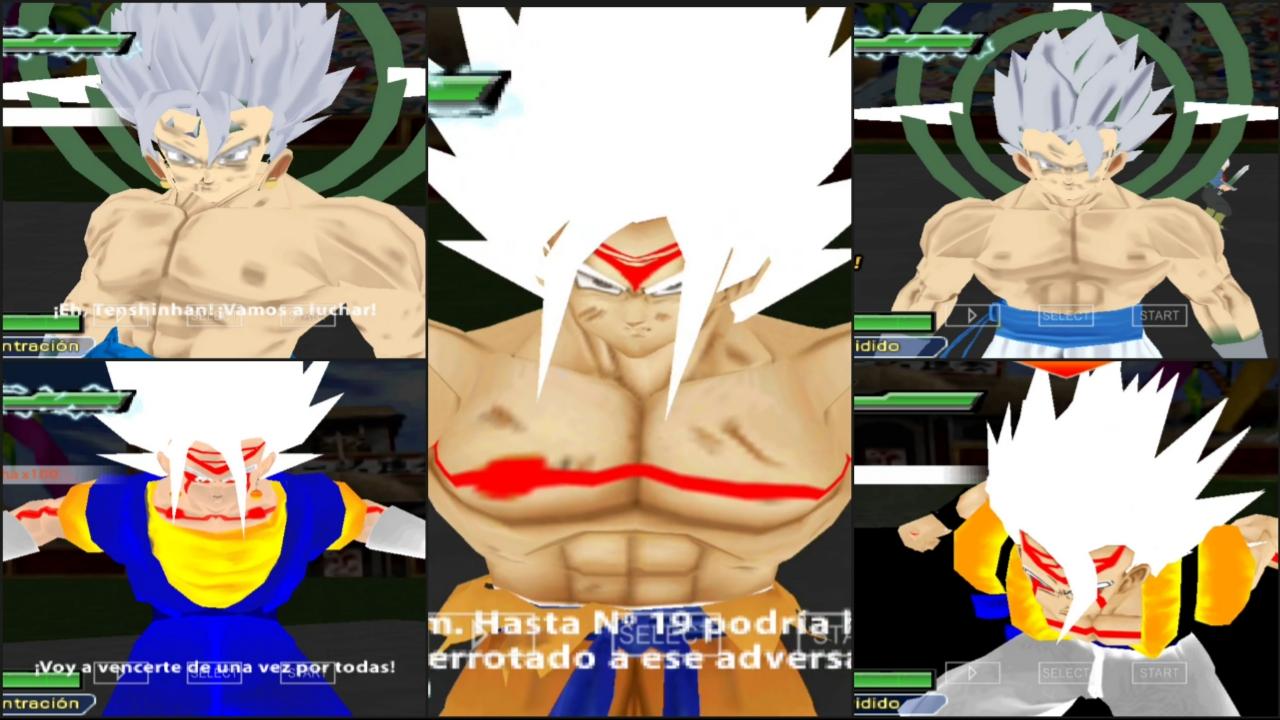 DBZ Omni God Goku And Vegeta