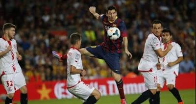 موعد مشاهدة مباراة برشلونة واشبيلية السبت 21-4-2018 ضمن نهائي كأس ملك إسبانيا والقنوات الناقلة